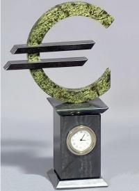 Часы настольные Евро