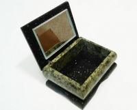 Оригинальная шкатулка ларец из камня