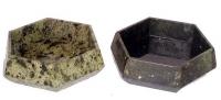 Пепельница из камня настольная шестигранная