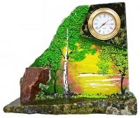 Расписные настольные часы